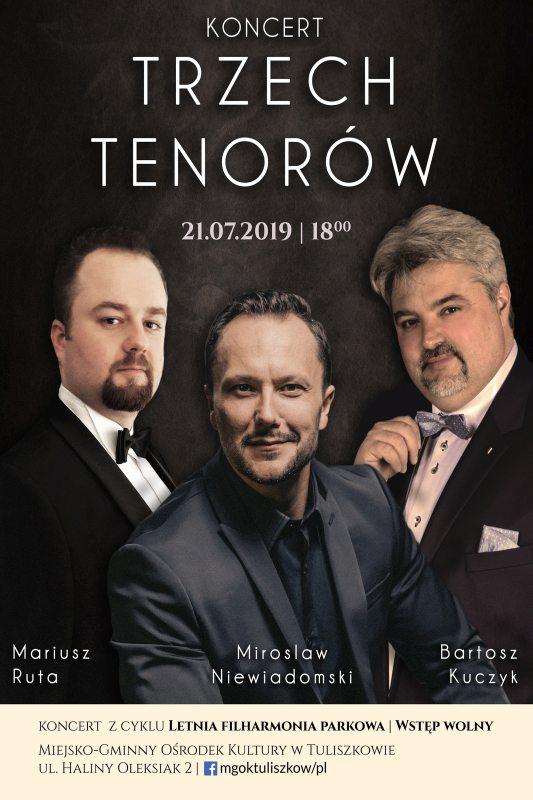 Tuliszków. Koncert trzech tenorów