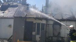 Tuliszków. Pożar w Tarnowej
