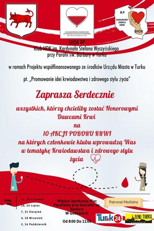 Turek. Zbiórka krwi