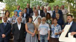 Konferencja wyborcza posła Ryszarda Bartosika (PiS) - urzędnicy starostwa, ARiMR, KRUS