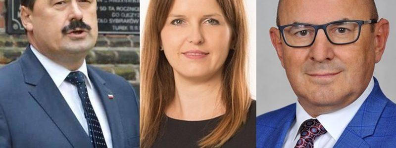 Wybory 2019. Ryszard Bartosik, Anna Majda, Grzegorz Ciesielski