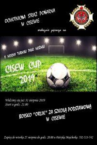 Cisew. Nocny turniej piłki nożnej