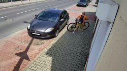 Turek. Policja poszukuje sprawcy kradzieży roweru