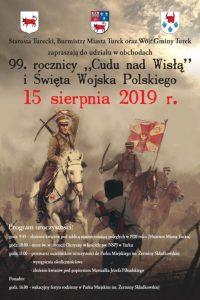 Turek. Obchody 99. rocznicy Cudu nad Wisłą oraz Święta Wojska Polskiego