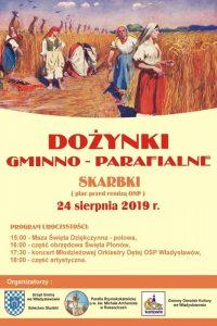 Władysławów. Dożynki gminno-parafialne w Skarbkach