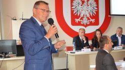poseł Tomasz Nowak - sesja Rady Miejskiej Turku
