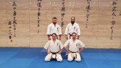 Trenerzy KSiSW na seminarium kumite