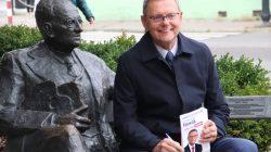Kampania wyborcza 2019: Tomasz Nowak, ławeczka Mehoffera