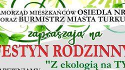 """Turek. Festyn Rodzinny """"Z ekologią na TY"""""""