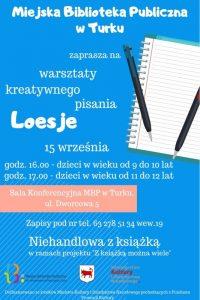 Warsztaty kreatywnego pisania dla dzieci