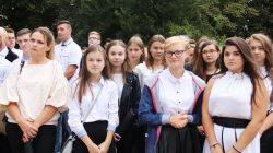 Rozpoczęcie roku szkolnego w ZSR Kaczki Średnie