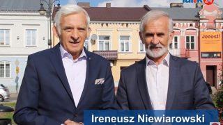 Jerzy Buzek i Ireneusz Niewiarowski