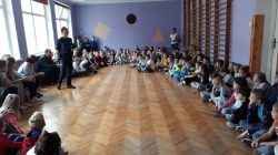 Gm. Turek. Sierżant Pyrek w szkołach i przedszkolach