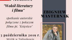 Tuliszków. Spotkanie autorskie z Zbigniewem Masternakiem