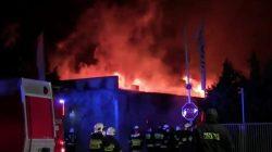 Pożar w Profim Turek