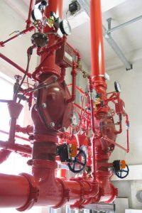 System przeciwpożarowy. (fot. SPIE)