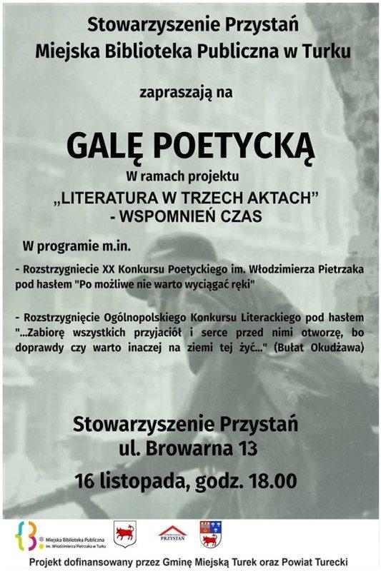 Turek. Gala Poetycka w Przystani