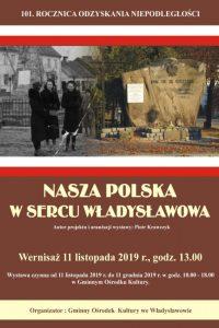 """Wystawa """"Nasza Polska w sercu Władysławowa"""""""