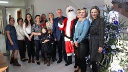 Św. Mikołaj w Urzędzie Gminy w Przykonie