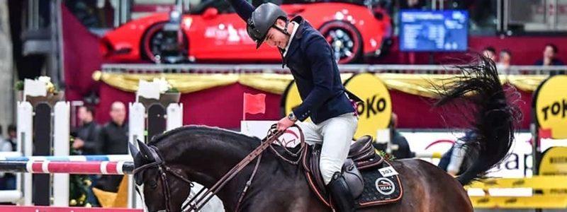 Fot. Daniel Kaiser / Andrzej Opłatek wygrywa konkurs w ramach Młodzieżowego Pucharu Europy
