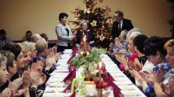 Spotkanie osób samotnych ze świąteczną tradycją u KGW w Brudzyniu