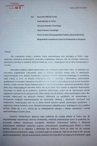 Deveris Turek. Petycja Zarządu Mieszkańców Osiedla nr 8