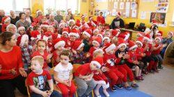 Wyszyńskie przedszkolaki odwiedził Święty Mikołaj