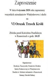 Władysławów. Orszak Trzech Króli