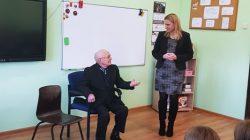 Spotkanie z Kazimierzem Smolińskim, najstarszym mieszkańcem Wyszyny
