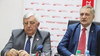 Konferencja prasowa SLD z udziałem MMM oraz posła Wiesława Szczepańskiego