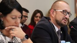 Sesja rady miasta: burmistrz Antosik i wiceburmistrz Misiak-Kędziora