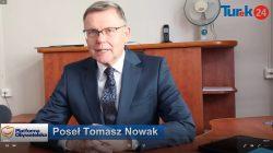 Poseł Nowak - konferencja prasowa | Turek, styczeń 2020 r.