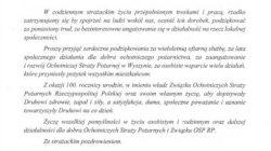 List Waldemara Pawlaka do Kazimierza Smolińskiego