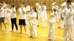 Egzamin Oyama Karate na stopnie uczniowskie