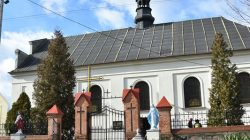 kościół pw. trójcy Świętej w Skęczniewie