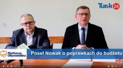 Konferencja prasowa polityków Platformy Obywatelskiej
