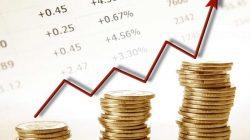 pieniądze, wykres, nadwyżka