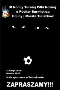 Tuliszków. IX Nocny Turniej Piłki Nożnej o Puchar Burmistrza