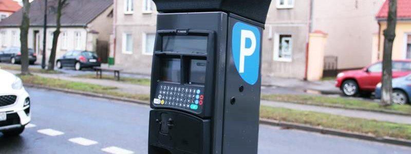 Parkomaty w Turku