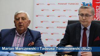 Konferencja prasowa posła Tadeusza Tomaszewskiego