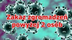 koronawirus - zakaz zgromadzeń