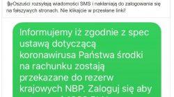 PKO Bank Polski. Fałszywe wiadomiości SMS