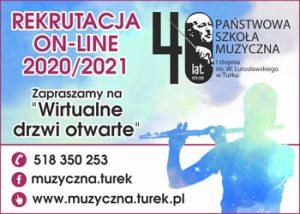 PSM w Turku / Rekrutacja online 2020/2021