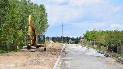 Tuliszków. Budowa drogi na Terenie Aktywizacji Gospodarczej