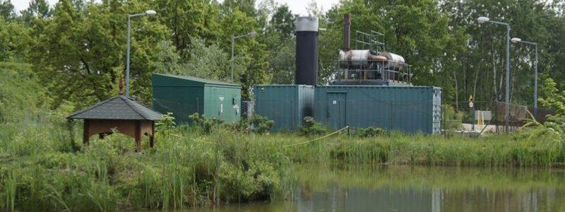 Biogazownia na terenie składowska Amest Otwock