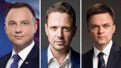 Andrzej Duda, Rafał Trzaskowski, Szymon Hołownia
