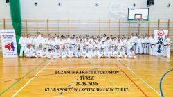 Egzamin karate. Turek (zdjęcie grupowe)