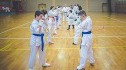 Turek. Egzamin karate