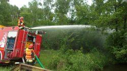 PSP Turek. Działania na rzecz ochrony przeciwpożarowej w lasach
