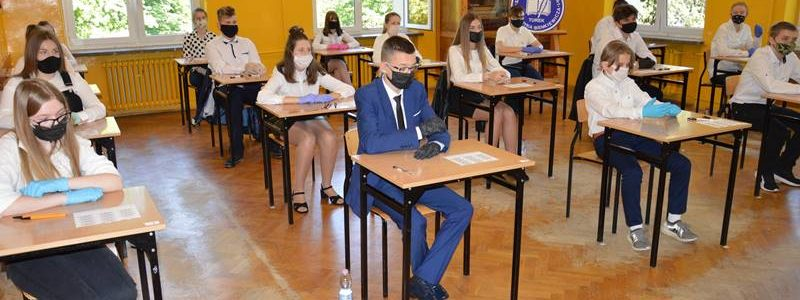 SP 1 Turek. Egzamin ósmoklasisty